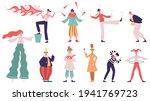 street performance artists.... | Shutterstock .eps vector #1941769723