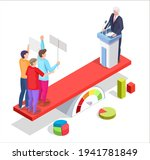 group of people protesters ... | Shutterstock .eps vector #1941781849