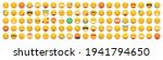 set of 100 emoticon smile icons.... | Shutterstock .eps vector #1941794650