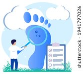 illustration of podiatry as a...   Shutterstock .eps vector #1941797026