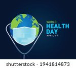 world health day concept vector ... | Shutterstock .eps vector #1941814873