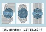 abstract aesthetic boho... | Shutterstock .eps vector #1941816349
