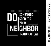 national do something good for...   Shutterstock .eps vector #1941840826