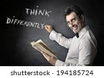 think differently   Shutterstock . vector #194185724