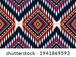 geometric ethnic oriental ikat... | Shutterstock .eps vector #1941869593