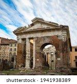Portico Of Octavia. Rome. Italy....