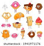 cartoon sweets and bakery funny ...   Shutterstock .eps vector #1941971176
