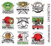 softball tournament  sport game ... | Shutterstock .eps vector #1941987763