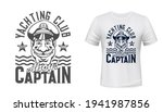 tshirt print with captain and...   Shutterstock .eps vector #1941987856