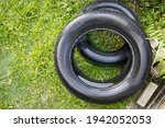 Old Abandoned Tyre Collected...