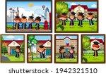 kids graduation photo frames... | Shutterstock .eps vector #1942321510