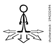 stick figures business...   Shutterstock .eps vector #194232494