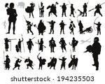 military vectors. ancient and...