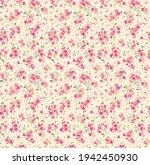 floral pattern. pretty flowers... | Shutterstock .eps vector #1942450930