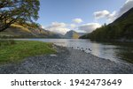 Looking Across Buttermere Lake...