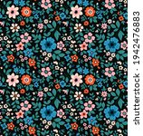 seamless floral pattern. ditsy... | Shutterstock .eps vector #1942476883