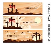 good friday banner and poster....   Shutterstock .eps vector #1942494646