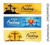 Good Friday Banner And Poster....