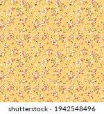 cute  floral pattern. seamless... | Shutterstock .eps vector #1942548496