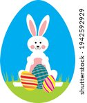 An Easter Bunny Sitting On...