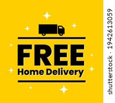 free home delivery web banner...