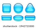 glass gel web buttons set...   Shutterstock .eps vector #1942723300