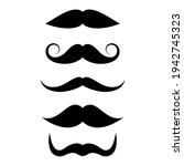 moustache vector icons...   Shutterstock .eps vector #1942745323