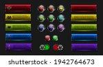 set off button  ui colorful ...