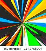 Loop Vertical Rainbow Neon...
