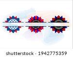 Patriotic Sunflower Monogram ...