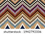 gemetric ethnic oriental ikat... | Shutterstock .eps vector #1942792336