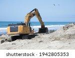 Construction Excavator Working...