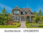 luxury house in vancouver ... | Shutterstock . vector #194280593