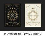 wheel of fortune tarot card... | Shutterstock .eps vector #1942840840