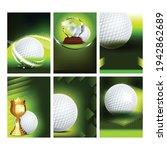 golf club field playground game ...   Shutterstock .eps vector #1942862689
