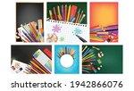 school sale collection creative ...   Shutterstock .eps vector #1942866076