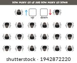 spatial orientation for kids.... | Shutterstock .eps vector #1942872220