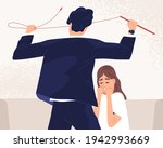 unhappy woman suffer from...   Shutterstock .eps vector #1942993669