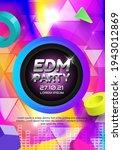poster music party design... | Shutterstock .eps vector #1943012869