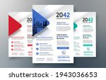corporate flyer design template ... | Shutterstock .eps vector #1943036653