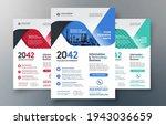 corporate flyer design template ... | Shutterstock .eps vector #1943036659