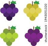 grape illustration vector blue  ... | Shutterstock .eps vector #1943051320