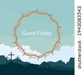 good friday banner and poster....   Shutterstock .eps vector #1943083543