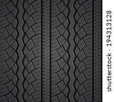 wheel tire seamless pattern.... | Shutterstock .eps vector #194313128