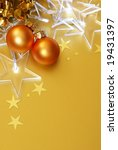 holiday background with lights... | Shutterstock . vector #19431397