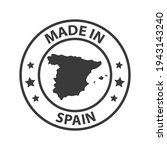 made in spain icon. stamp made... | Shutterstock .eps vector #1943143240