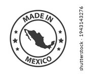 made in mexico icon. stamp made ... | Shutterstock .eps vector #1943143276