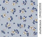 beautiful vintage floral...   Shutterstock .eps vector #1943210533
