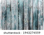 Turquoise Blue Old Vintage Wood ...