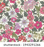 vintage seamless floral pattern.... | Shutterstock .eps vector #1943291266